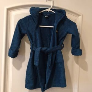 Baby Gap hooded robe for toddlers 2T